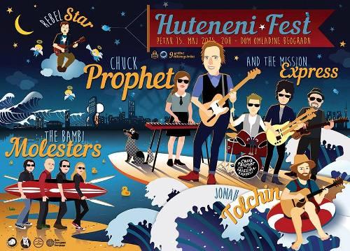 HUTENENI Fest: Chuck Prophet & The Mission Express vraćaju se u Beograd i ne dolaze sami! | Dom omladine | 2015