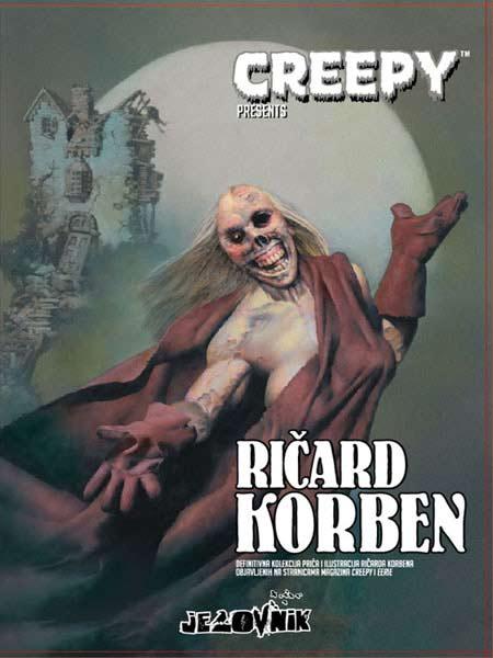 Savršeni užas! Kritika antologije stripova | Ričard Korben | CREEPY | Biblioteka Jezovnik | Izdavač: Darkwood