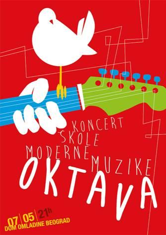 Koncert učenika Škole moderne muzike OKTAVA u Domu omladine Beograda! | 2015