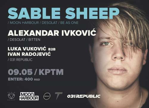 Sable Sheep: 031 REPUBLIC slavi 5. rodjendan u beogradskom klubu KPTM! | Beograd