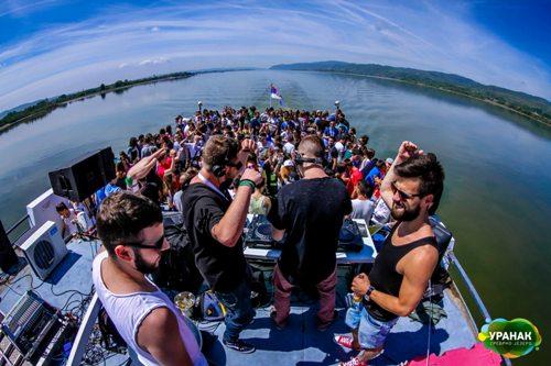 Uranak festival krstarenje Dunavom 2015