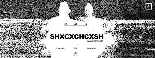 Shxcxchcxsh: Mistični i mračni techno duo iz Švedske | Underground Rave Žurka | Drugstore | 2015