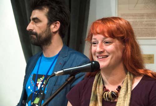 Dina RAdoman, uvodna rec | 0. Beogradski festival poezije i knjige