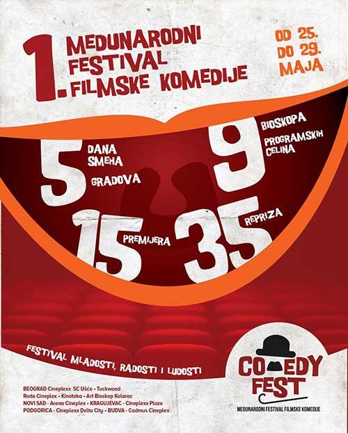 Prvi Međunarodni festival filmske komedije - Comedy Fest