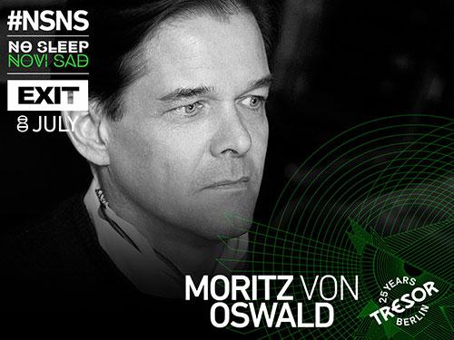 No Sleep Novi Sad - Moritz van Oswald - Exit 2016