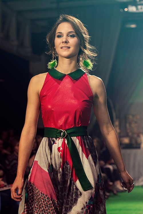 Humanitarna modna revija Kjarin san