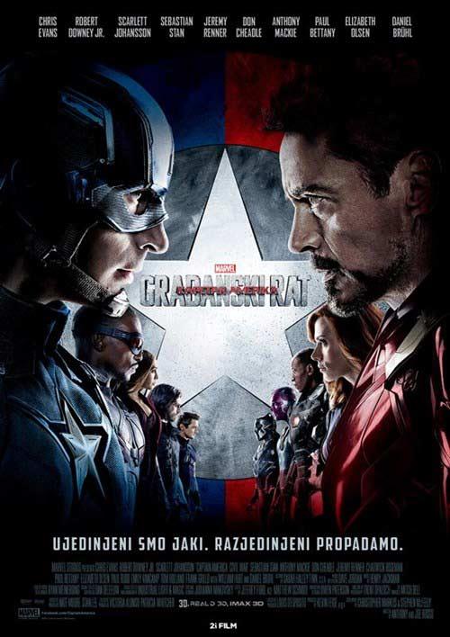 Kapetan Amerika - Građanski rat
