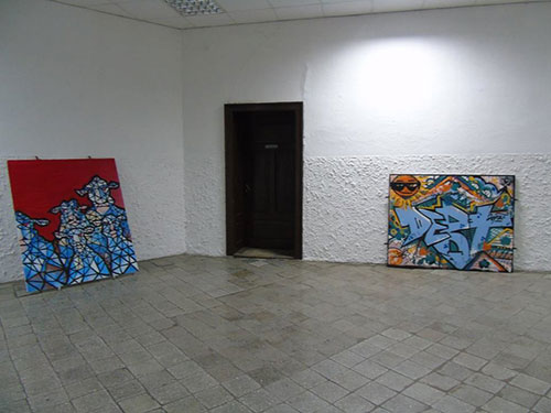 Grafiti u Omoljici