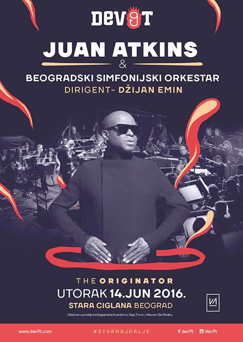 DEV9T: Beogradski simfonijski orkestar i Juan Atkins