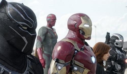 Iron Man : Captain America Civil War