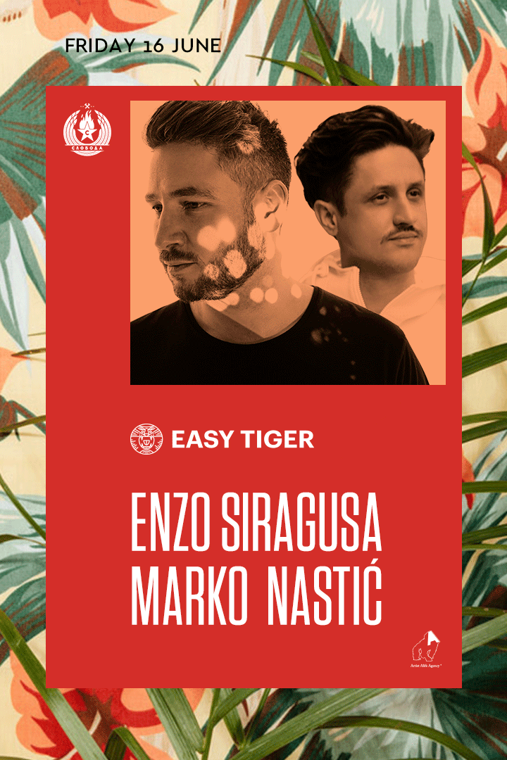 Easy Tiger - Splav Sloboda 16. jun - Enzo - Marko Nastić