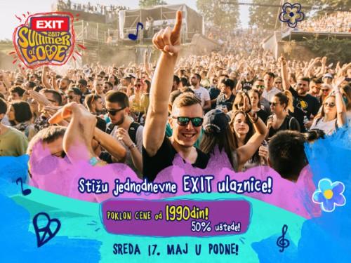 Exit festival 2017 - dnevne ulaznice