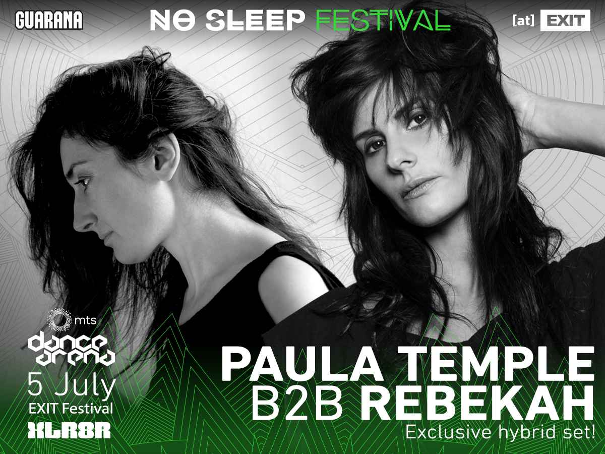 No Sleep Novi Sad Paula Temple i Rebekah