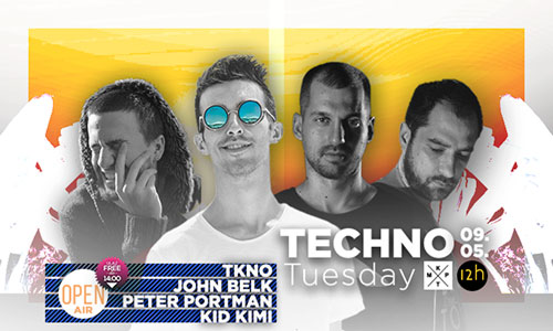 Open Air techno tuesday