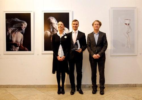 Aja Jung, Aleksandar Antonijević i Andreas Graf, Direktor CEO Vip mobile | Beograd | 2015