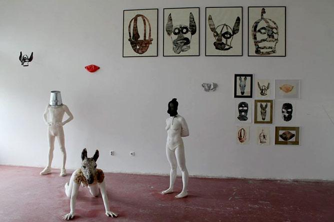 Andrea Dramićanin - BEZLIČNI: Samostalna izložba dobitnice najznačajnije nagrade FLU! | Galerija FLU | Beograd | 2015