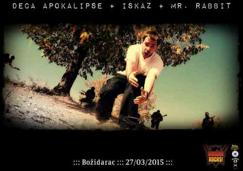 Deca Apokalipse, Iskaz i Mr Rabbit na Vračar Rocks festivalu! | Božidarac | Vračar Rocks | Beograd | 2015