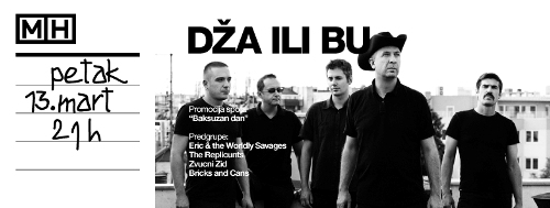 DŽA ILI BU: Novi spot i beogradski koncert rock grupe! | Mikser House | Beograd | 2015