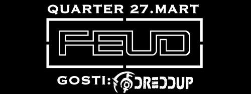 FEUD: obraća se budnima, a usput drmusa zaspale! | Klub Quarter | Novi Sad | 2015