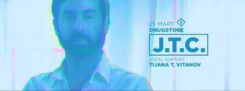 Dj JTC: Za gramofone beogradskog kluba dolazi pravo sa žurke iz Pariza! | Drugstore | Beograd | 2015