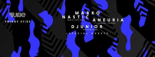 Marko Nastić & Aneuria & Djunior: Odličan provod uz goste iz Slovenije u klubu The Tube!
