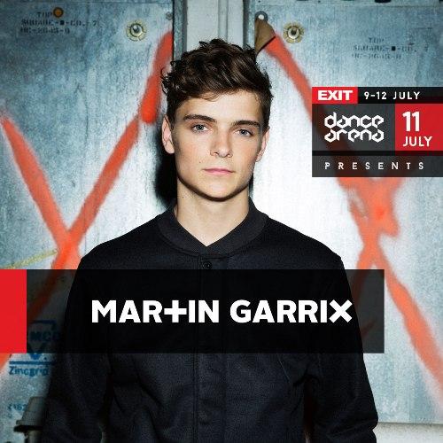 Globalna DJ superzvezda MARTIN GARRIX pojačava nikad snažniju postavu Exit Dance Arene! | EXIT 2015