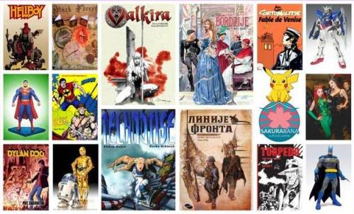 PRVI VIKEND STRIPA: Više od 2000 stripova na jednom mestu!   Delta City   Beograd   2015