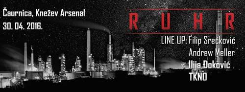 RUHR pretvara kragujevačku Čaurnicu u underground klub kojim će 30. aprila odzvanjati techno.