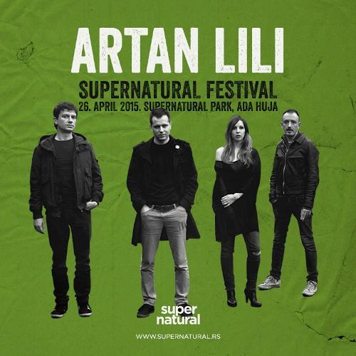Zvuk sastava Artan Lili  na SUPERNATURAL FESTIVAL-u 2015!   Ada Huja   Beograd  