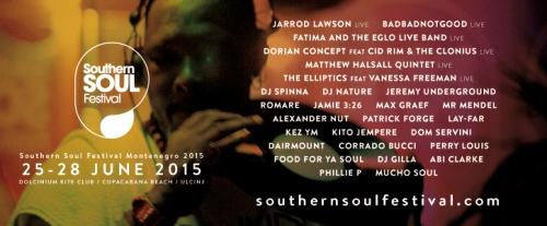 SOUTHERN SOUL FESTIVAL MONTENEGRO 2015: Još velikih internacionalnih zvezda sa live nastupima! | Ulcinj