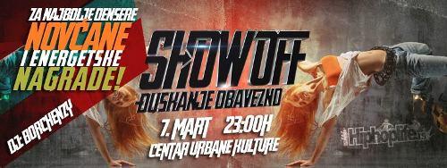 Show Off žurka u samom centru grada! | Centar Urbane Kulture | Beograd | 2015