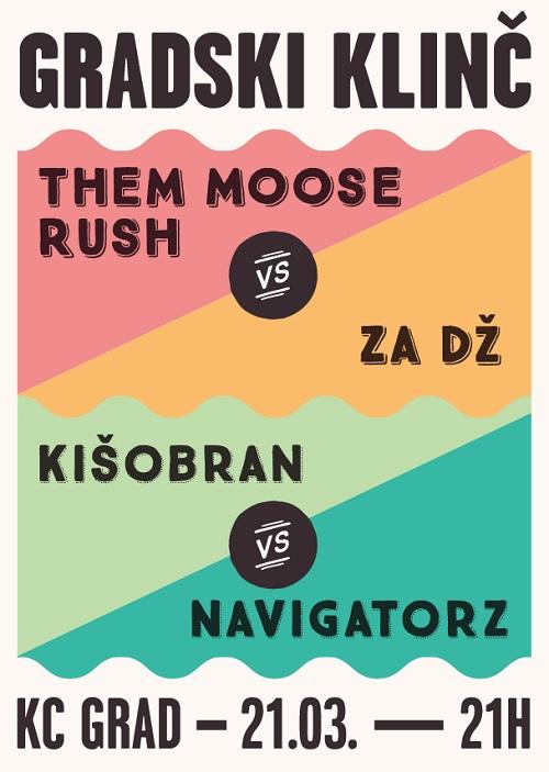 Ove subote u KC GRADU-u vas očekuju dva gradska okršaja! | Beograd | 2015