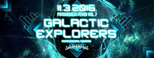 GALACTIC EXPLORERS: Psihodelična Groznica u goste dovodi ISTRAŽIVAČE GALAKSIJE!