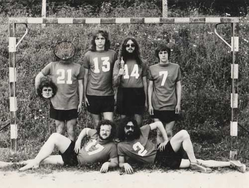 Buldozer foto Miro Mele 1975