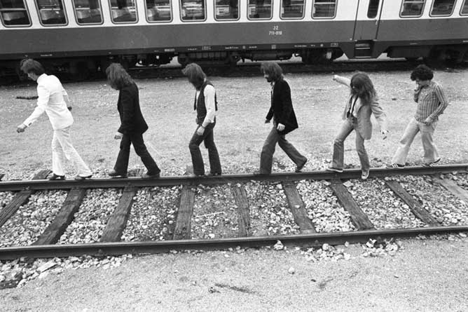 Buldozer foto Tone Stojko 1978