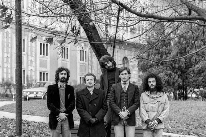 Buldozer foto Vojko Flegar 1980