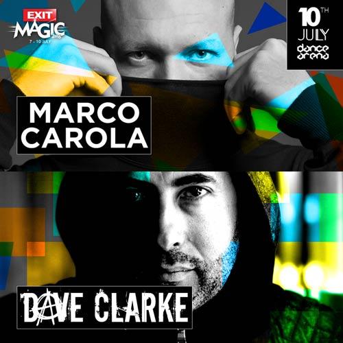 Marco Carola & Dave Clarke: Sprema se all-star techno nedelja na tvrđavi!