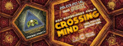 GOA EXPERIENCE VOL.2: Transylvaliens Festival Promo Party with CROSSING MIND