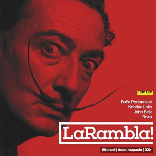 TECHNO KORIDA: Pozivamo sve TECHNO TOREADORE na La Ramblu!