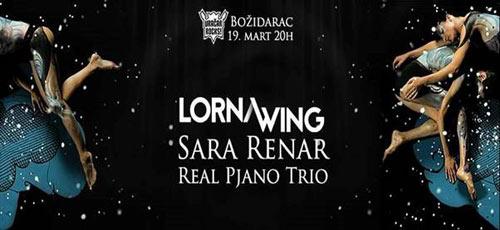 Lorna Wing i Sara Renar: Muzički doček proleća u Božidarcu! | Beograd 2016