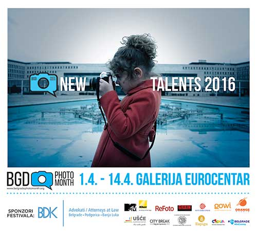 Belgrade Photo Month Novi talenti