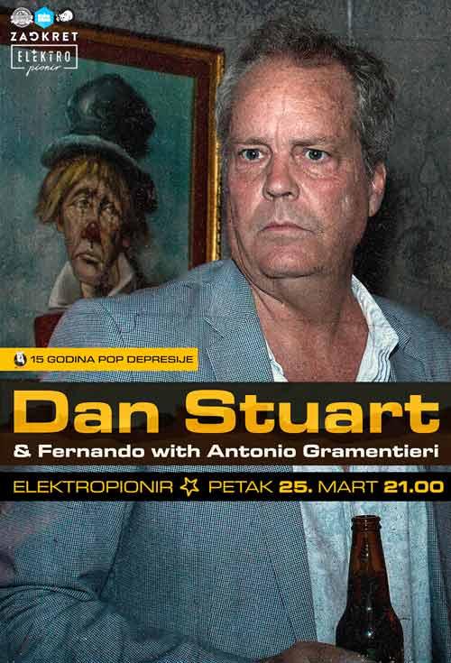Elektropionir: Dan Stuart, Fernando & Antonio Gramentieri kao tri jahača apokalipse!