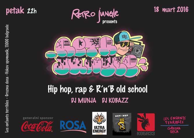 Retro Jungla: Osetite vajb Old School Hip Hop i RnB muzike! | Dj Munja i Dj Kobazz