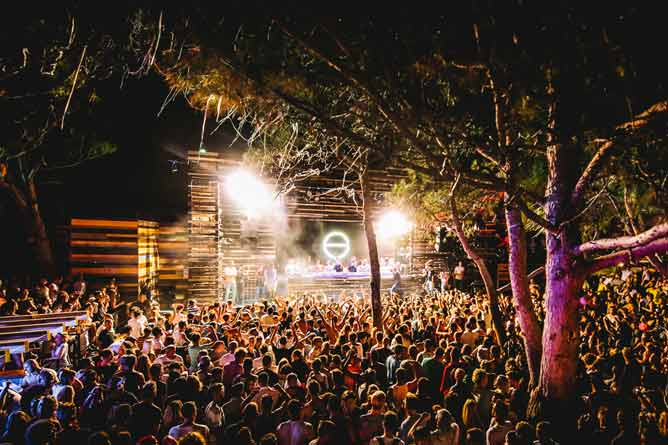 Atmosfera u klubu Kalypso na Sonus Festivalu