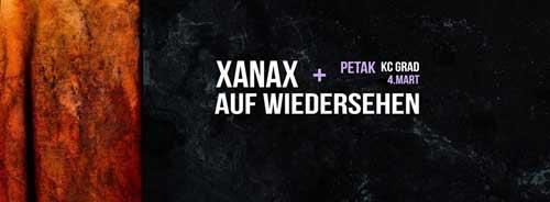 Koncert bendova Xanax i i Auf Wiedersehen u Kulturnom Centru GRAD