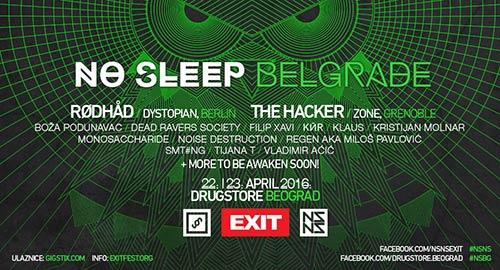 No Sleep vikend u Beogradu