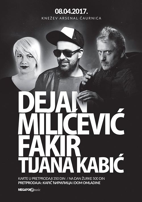 Kraguejvac Dance Event: Tijana Kabić, Fakir, Dejan Milićević