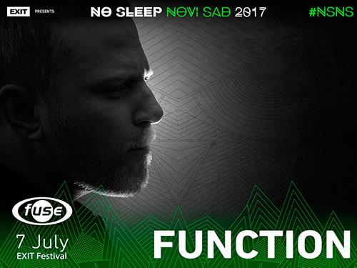 Function - No Sleep Novi Sad - Exit 2017 - petak 7. jul