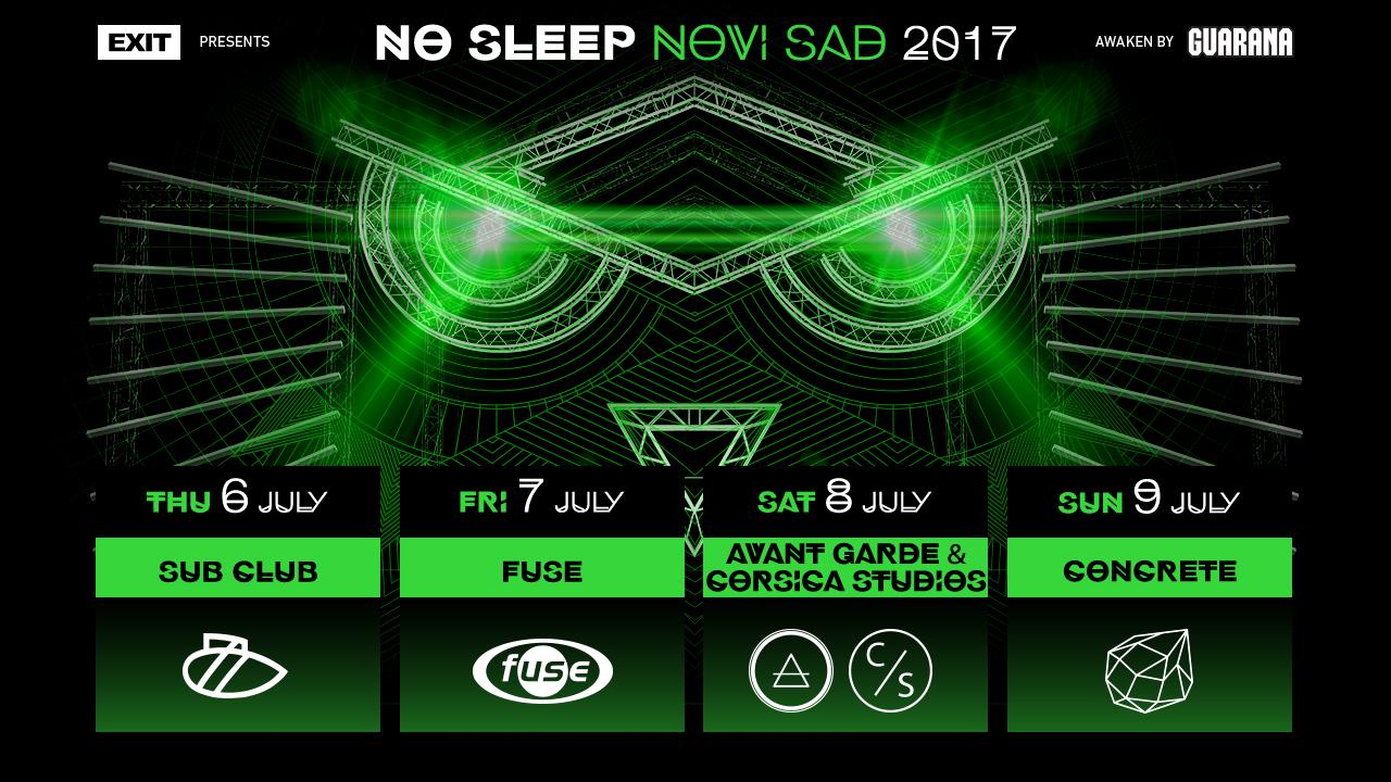 No Sleep Novi Sad 2017