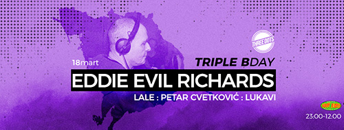 Evil Eddie Richards u klubu Three Dots